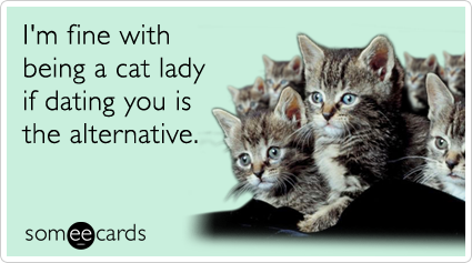Dating profile cat lady